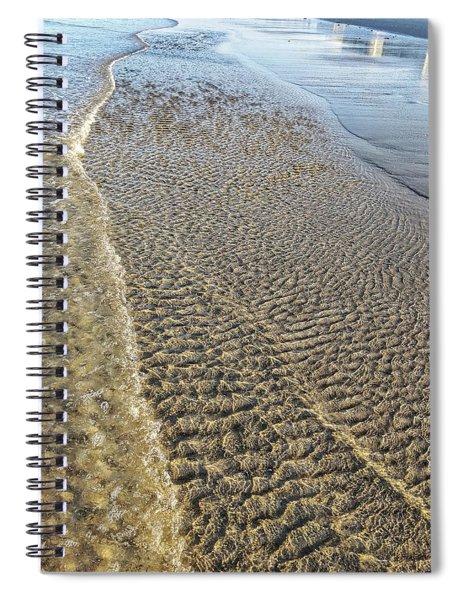 Ripple Effect Spiral Notebook