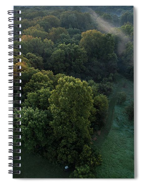 Rising Mist Spiral Notebook
