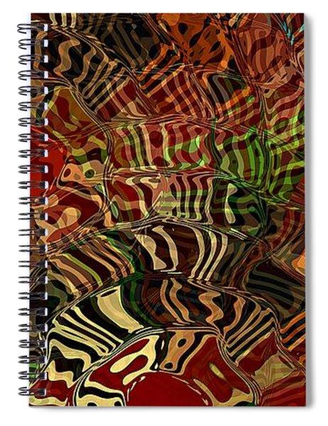Rising Sun Spiral Notebook