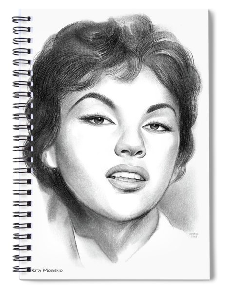Rita Moreno Spiral Notebook