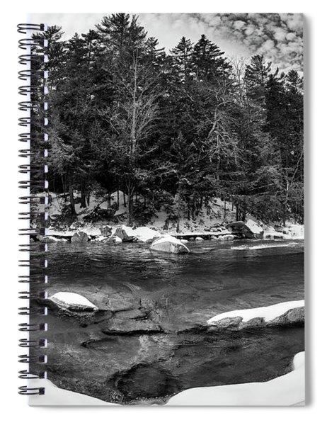 River Bend, Rocky Gorge 2 N H Spiral Notebook