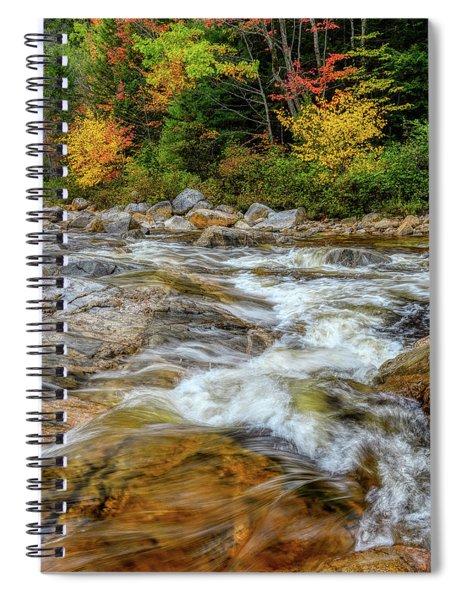 River Cross, Swift River Nh Spiral Notebook