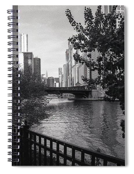 River Fence Spiral Notebook