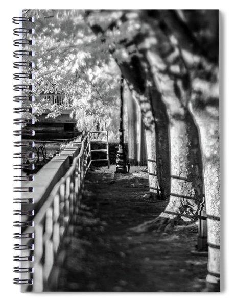 River Lines Spiral Notebook
