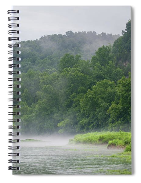 River Mist Spiral Notebook