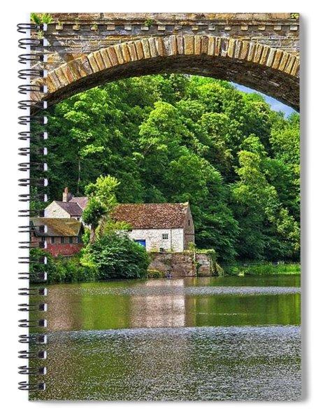 River Wear In Durham City Uk Spiral Notebook