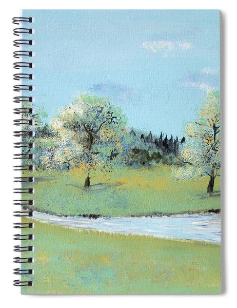 River Windrush Spiral Notebook