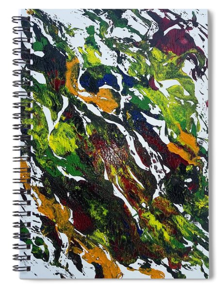 Rivers And Valleys Spiral Notebook