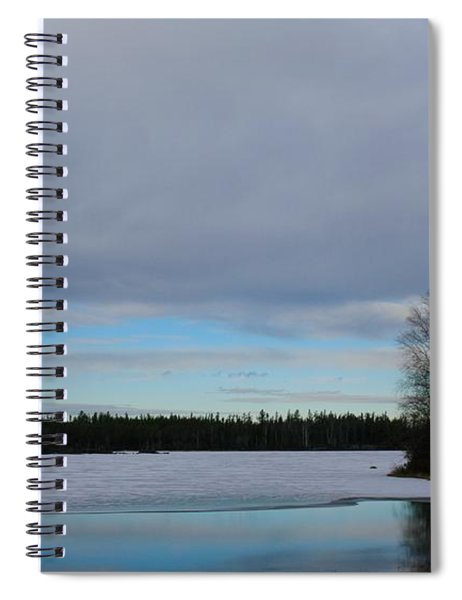 Rivers Wandering Spiral Notebook