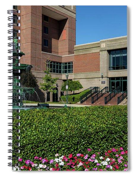 Riverwalk Augusta Ga Fountain Spiral Notebook