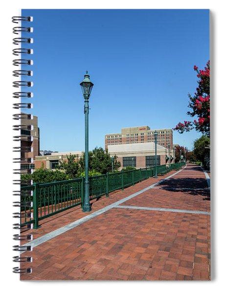 Riverwalk Downtown Augusta Ga Spiral Notebook