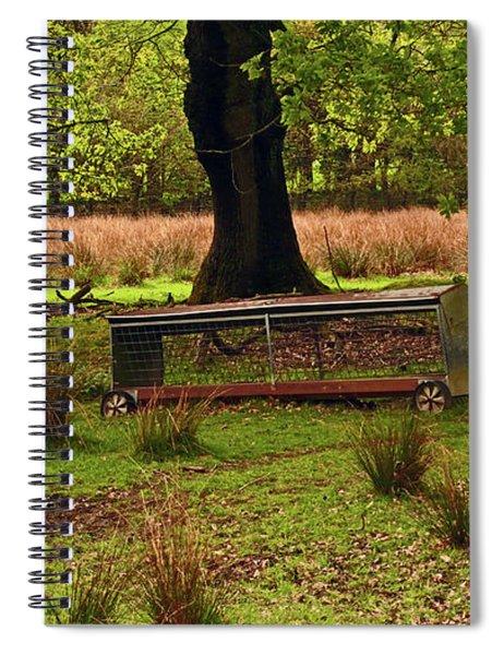 Rivington. Terraced Gardens. Feeding Trough. Spiral Notebook