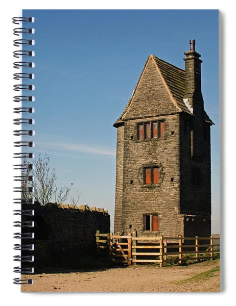 Rivington. The Pigeon Tower. Spiral Notebook