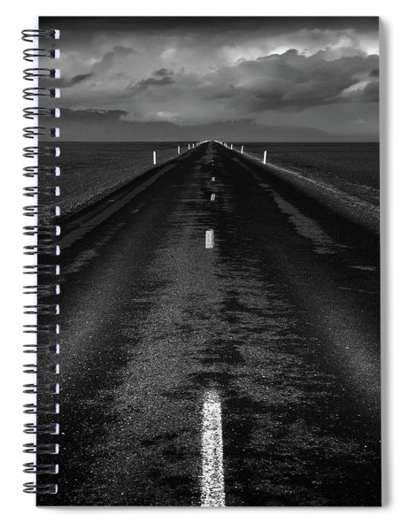 Road One, Iceland Spiral Notebook