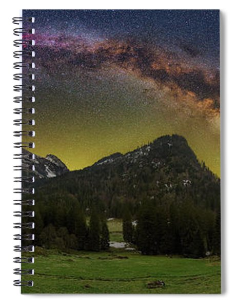 Road To Heaven Spiral Notebook