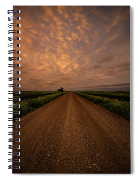 Road To Huron  Spiral Notebook