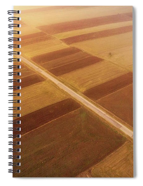 Road To Sun Spiral Notebook