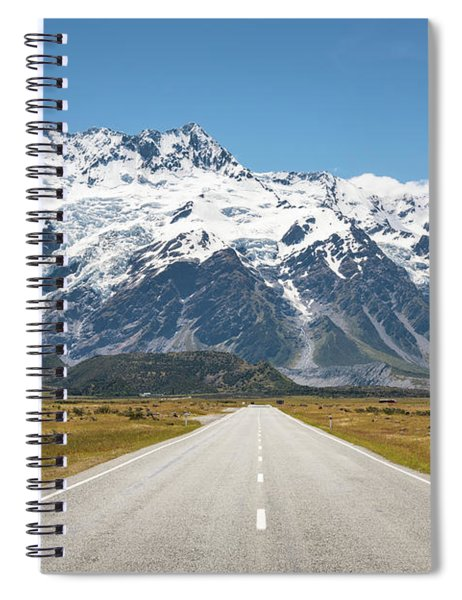 Road Trip In The Southern Alps Spiral Notebook