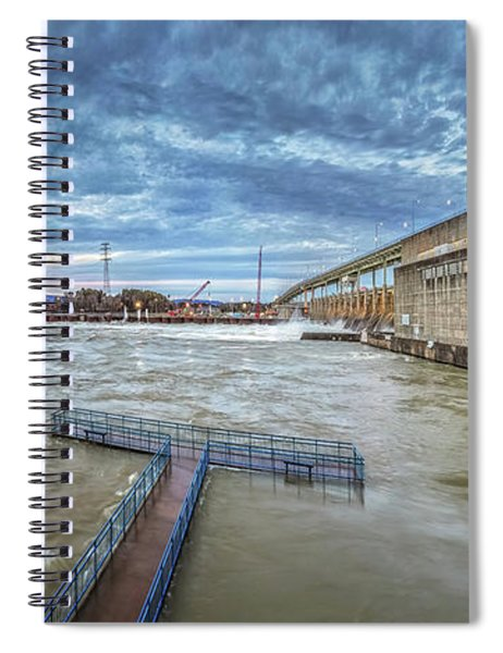 Roaring River Below Chickamauga Dam Spiral Notebook