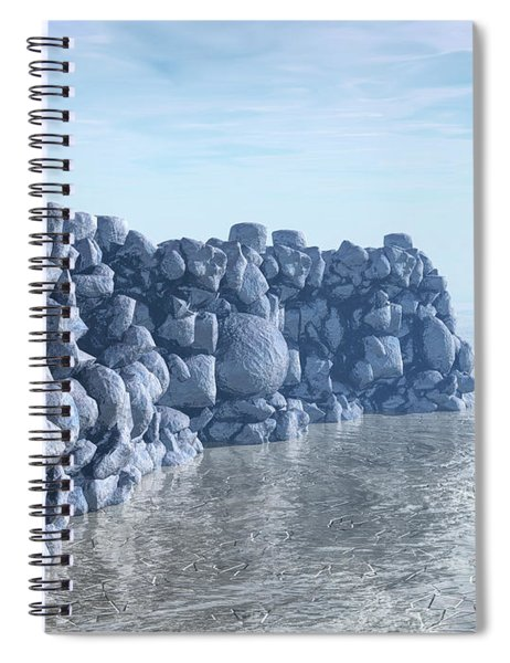 Rock And Ice Spiral Notebook