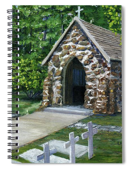 Rock Chapel Louisiana Church Spiral Notebook