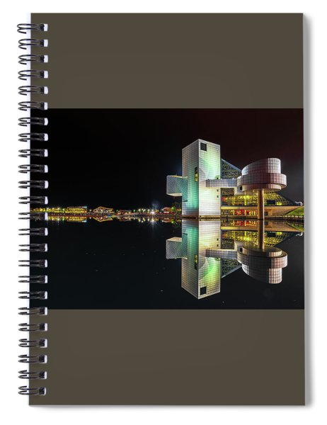 Rock Hall Reflections  Spiral Notebook