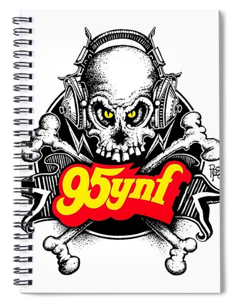 Rock 'n Roll Pirates Spiral Notebook