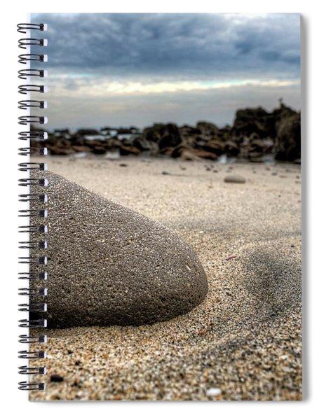 Rock On Beach Spiral Notebook