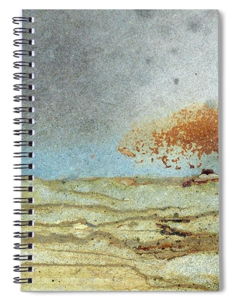 Rock Stain Abstract 1 Spiral Notebook