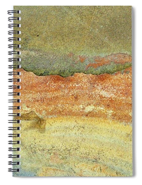 Rock Stain Abstract 2 Spiral Notebook
