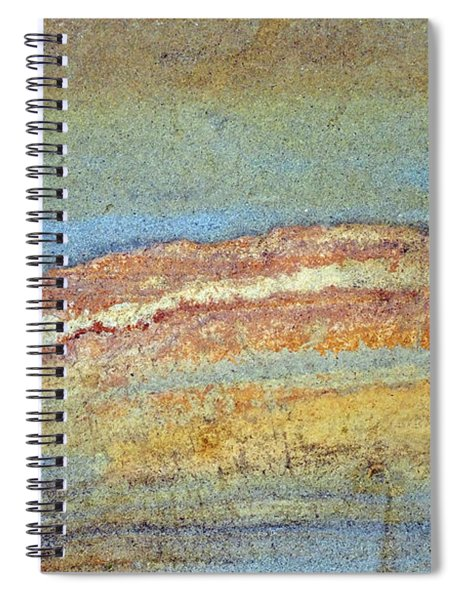 Rock Stain Abstract 3 Spiral Notebook