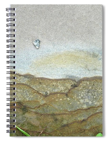 Rock Stain Abstract 5 Spiral Notebook