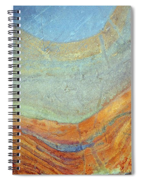 Rock Stain Abstract 7 Spiral Notebook
