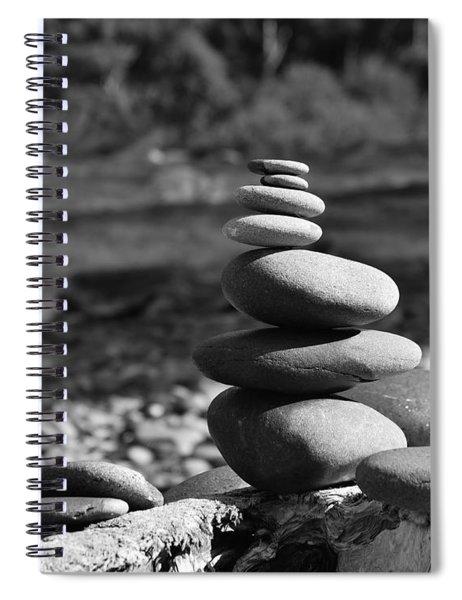 Rock Zen 7 Spiral Notebook
