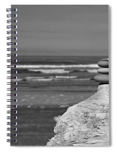 Rock Zen Four Spiral Notebook
