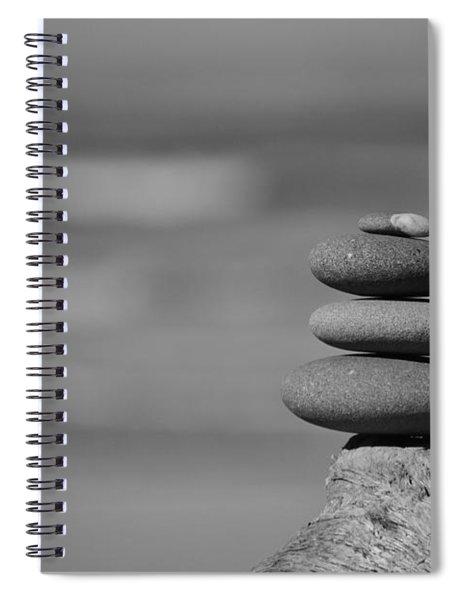 Rock Zen 6 Spiral Notebook