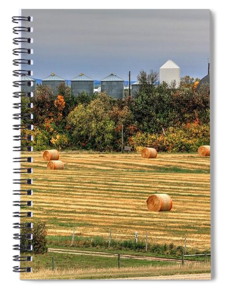 Rocket Farm  Spiral Notebook