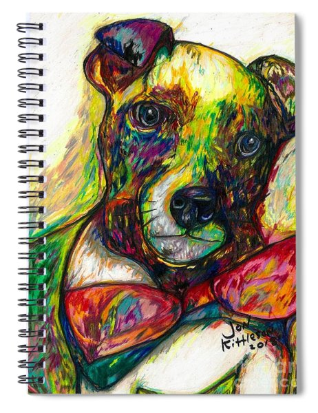 Rocket The Dog Spiral Notebook