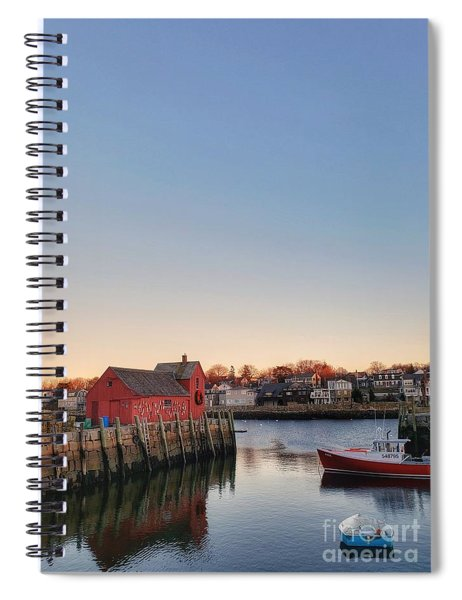 Rockport Massachusetts  Spiral Notebook