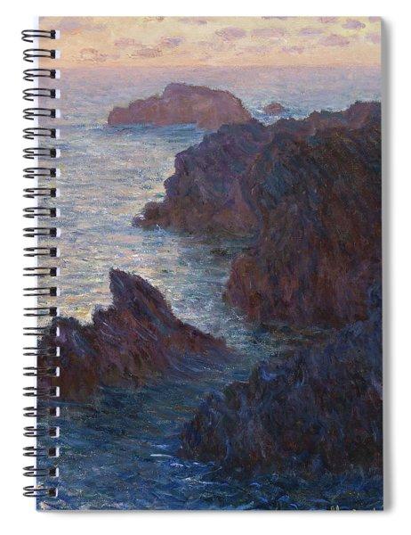 Rocks At Belle-lle, Port-domois, 1886 Spiral Notebook