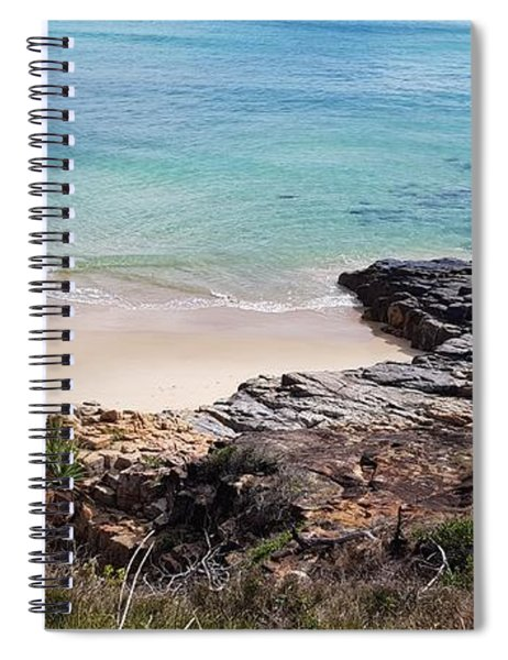 Rocks Sand And Water  Spiral Notebook
