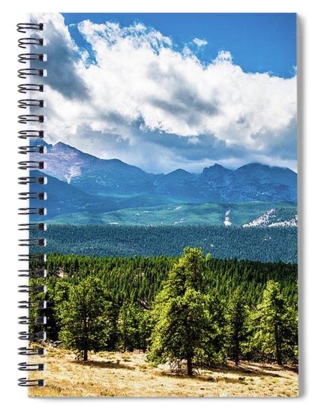 Rocky Mountain Np I Spiral Notebook