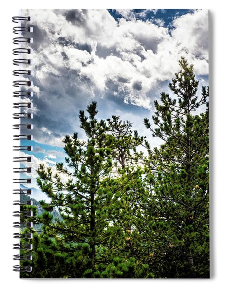 Rocky Mountain Pines Spiral Notebook