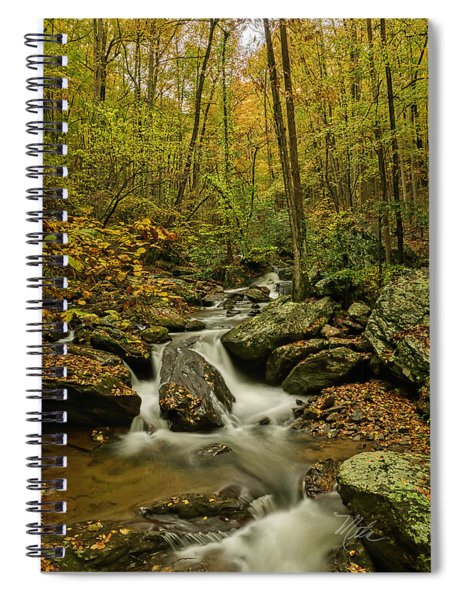 Rocky Stream Vertical Spiral Notebook