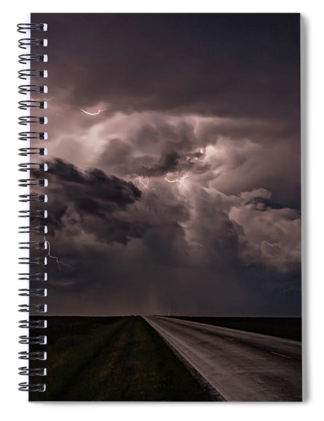 Rollin On Down The Road Spiral Notebook