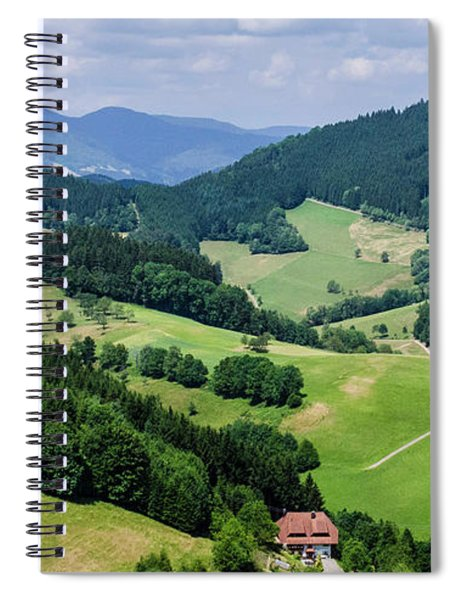 Rolling Hills Of The Black Forest Spiral Notebook