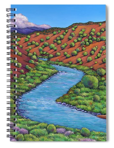 Rolling Rio Grande Spiral Notebook