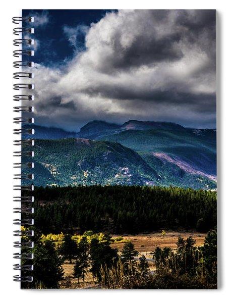Rolling Rockies Spiral Notebook