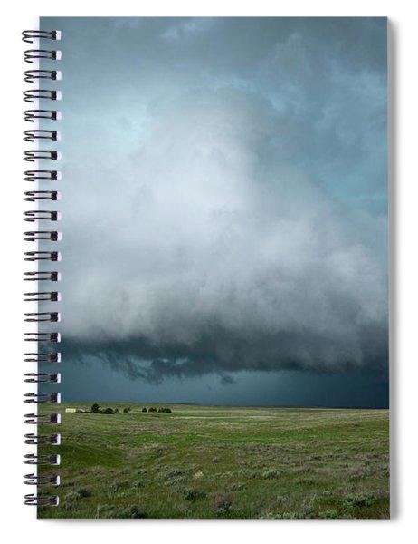 Rolling Storm Spiral Notebook