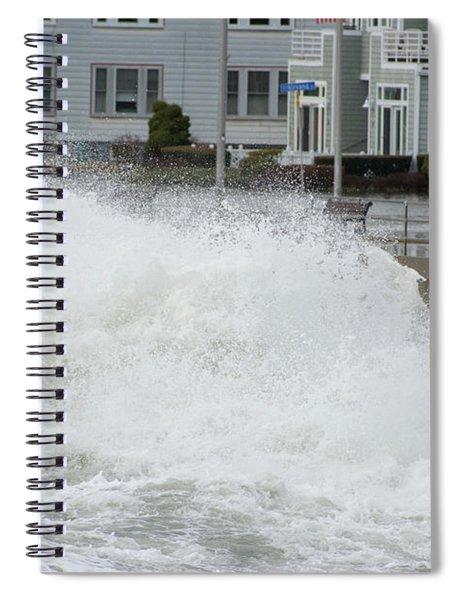 Rolling Wave Spiral Notebook